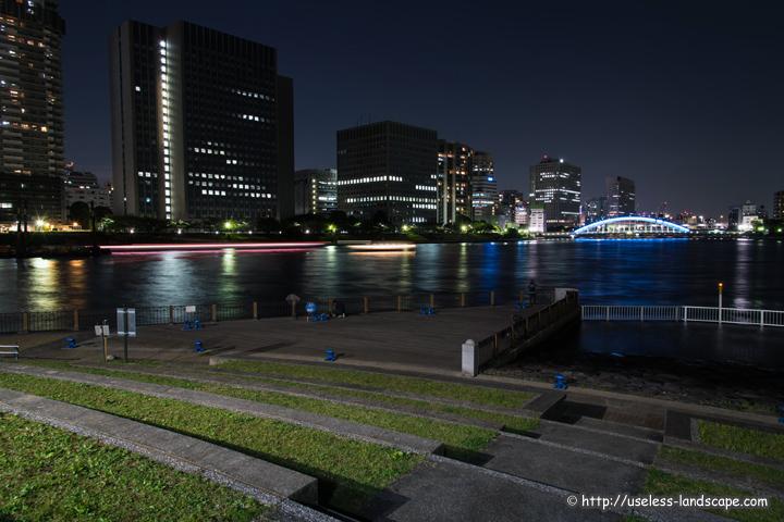 石川島公園 パリ広場の夜景情報...